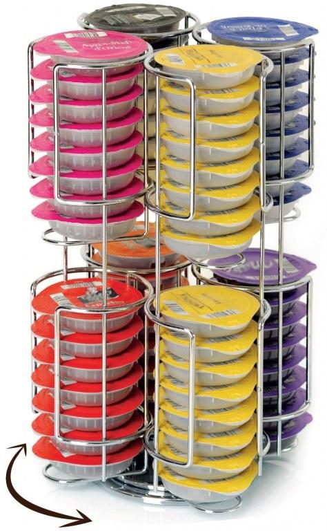 Porte capsules x64 - Support pour t disc tassimo ...