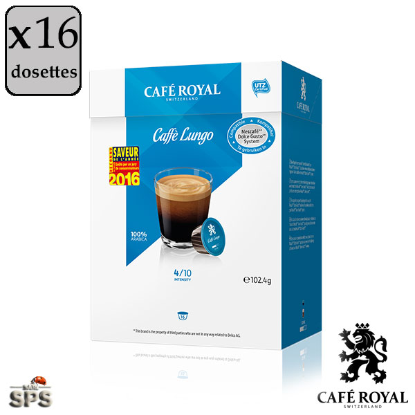 caffe lungo caf royal compatible dolce gusto. Black Bedroom Furniture Sets. Home Design Ideas