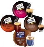 Pack Découverte x280 dosettes             pack : 5 paquets de chaques : espresso classic - café long Intense- Petit dej Intense- Cappu choco