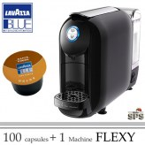 Machine Flexy Noire + 100 Cafés              OFFRE SPECIALE