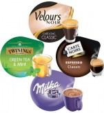 Pack Découverte x280 dosettes             pack : 5 paquets de chaques : espresso classic-café long classic vl-thé green thé mint-milka