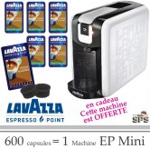Machine EP Mini + 600 Cafés