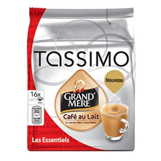 Vente Capsules Tassimo Grand Mere Cafe Au Lait