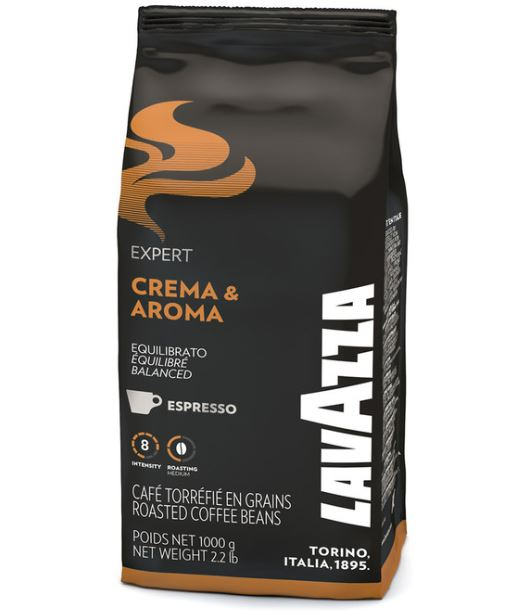 cafe grains lavazza crema aroma 1kg. Black Bedroom Furniture Sets. Home Design Ideas