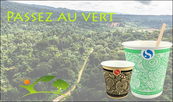 Gobelet recyclable développement durable