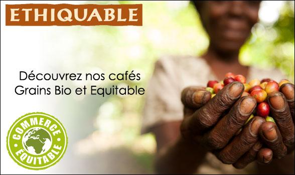 Cafés Ethiquable bio