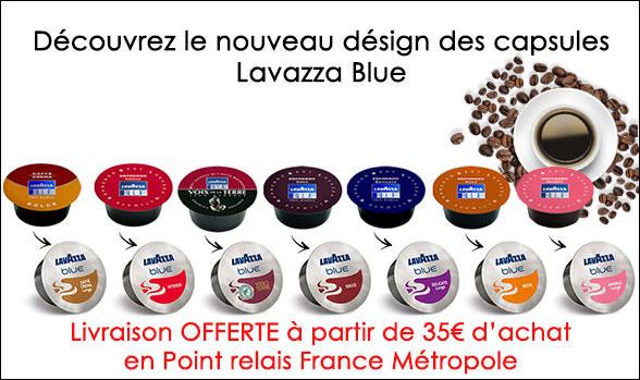 Nouvelles capsules lavazza blue