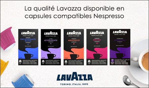 Lavazza Nespresso compatible