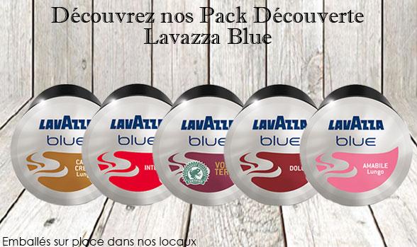 Pack découverte Lavazza Blue
