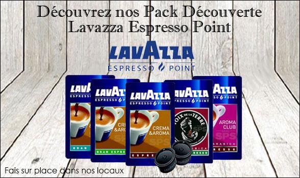 Pack découverte Lavazza Espresso point