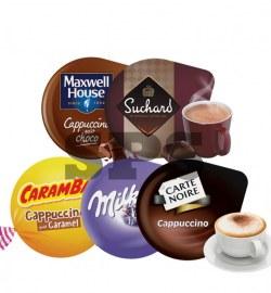 Pack Boissons Gourmandes                                     :  Carambar - Cappu choco - Cappu - Milka - Suchard