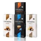 Pack Détente Café Royal                                          Caramel-Vanille-Espresso-Lungo Compatible Nespresso
