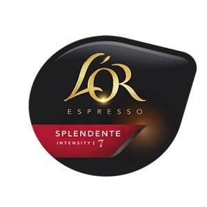 Splendente x80 dosettes TASSIMO L'Or Espresso