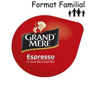 Espresso x120 dosettes TRIPAC TASSIMO Grand mère
