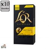 Lungo Mattinata L'Or                               Capsules compatible Nespresso