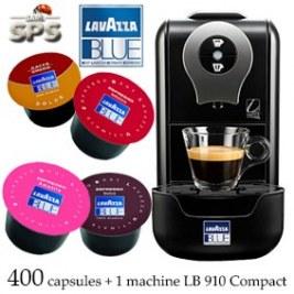 Machine LB910 + 400 Cafés