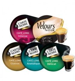 Pack Tassimo Café Long                                       Délicat - Aromatique - Intense - Velours Noir - Classic