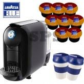 offerte pour 800 Cafés              Flexy Noire   + 2 Gobelets Lavazza To Go