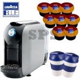 offerte pour 800 Cafés                      Flexy Grise   + 2 Gobelets Lavazza To Go