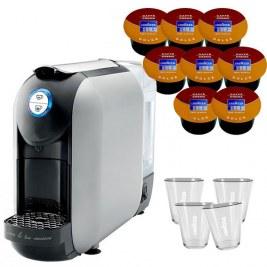 offerte pour 800 Cafés              Flexy Grise  +4 verres LAVAZZA