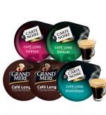 Pack Tassimo Café Long                                       Délicat - Aromatique - Intense - GM x2