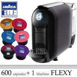 Machine Flexy Noire offerte pour 600 Cafés