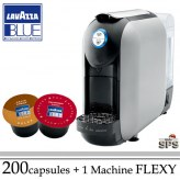 Machine Flexy Grise + 200 Cafés