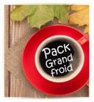 Pack Grand froid                                                            Cappu - Earl Grey - Pti Dej GM - Café Vanille - Macc Caramel - Porte capsule 30 - Détartrant tablette - tdisk d'entretien
