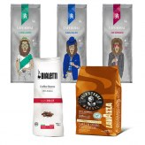 Pack Café Grain 500gr x5                                             Voix de la terre500gr-Bialetti-Lord  James-Sir Edward-King Ralph