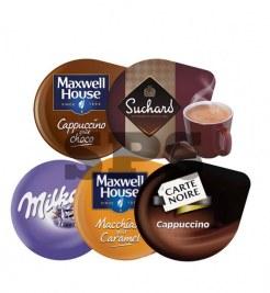 Pack Boissons Gourmandes                                     :  Milka - Cappu choco - Cappu - Suchard- Macchiato caramel