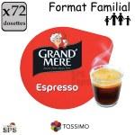 EspressoGrandmère Tassimo x72     TRIPAC