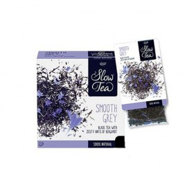 Smooth Grey Slow Tea 25 sachets Cristal suremballés