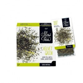 Velvet Green Slow Tea 25 sachets Cristal suremballés