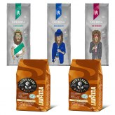Pack Café Grain 500gr x5                                             Voix de la terre500gr x2 -Lord  James - Prince Chester - King Ralph