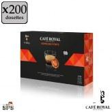 Espresso Forte Café Royal x4                Compatible Nespresso PRO