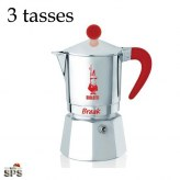 Cafetière Break Bialetti Rouge 3 tasses