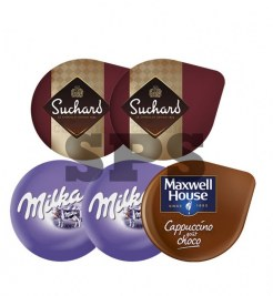 Pack Chocolat                                                 2 milka - 2 suchard - cappu choco