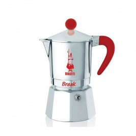 Cafetière Break Bialetti Rouge 3 tasses