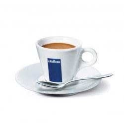 Tasses Espresso LAVAZZA X 12+SOUS TASSES