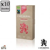Espresso 100% Bio Café Royal                                     Compatible Nespresso