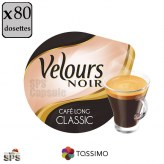 Café Long Classic Velours Noir x5           TASSIMO