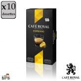 Espresso Café Royal                               Compatible Nespresso