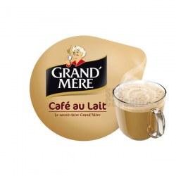 Café au lait x16 dosettes                     TASSIMO Grand Mère