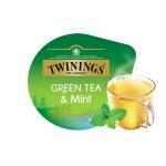Green Tea & Mint x16 dosettes                    TASSIMO Twinings
