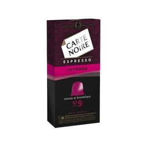 Espresso intense n°9 Carte Noire compatible Nespresso