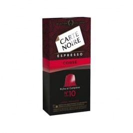 Espresso corsé n°10 Carte Noire compatible Nespresso
