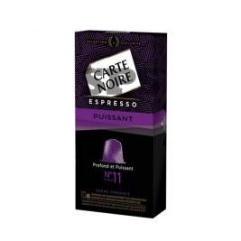 Espresso puissant n°11 Carte Noire compatible Nespresso