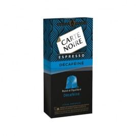 Espresso décaféiné Carte Noire compatible Nespresso