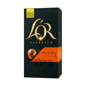 Delizioso L'Or                               Capsules compatible Nespresso