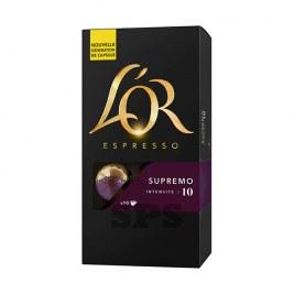Supremo L'Or                               Capsules compatible Nespresso